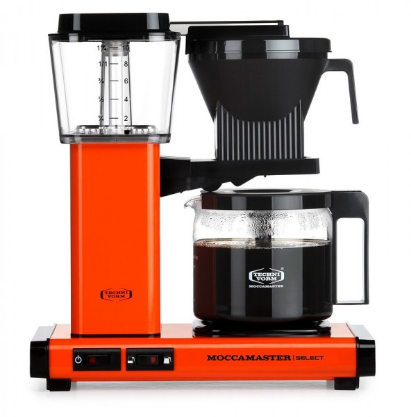 Moccamaster orange Kaffeefiltermaschine KBG Select