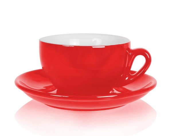 Nuova Point Cappuccinotasse Palermo rot 200ml
