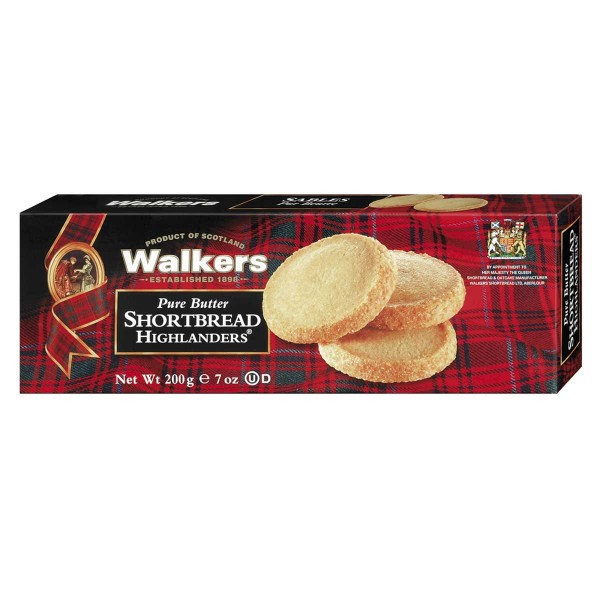 Original Walkers Shortbread Butterkekse Highlander