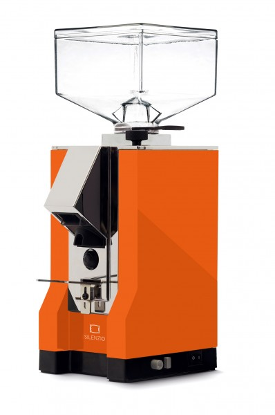 Eureka New Mignon Mühle Silenzio orange-chrom Kaffeemühle