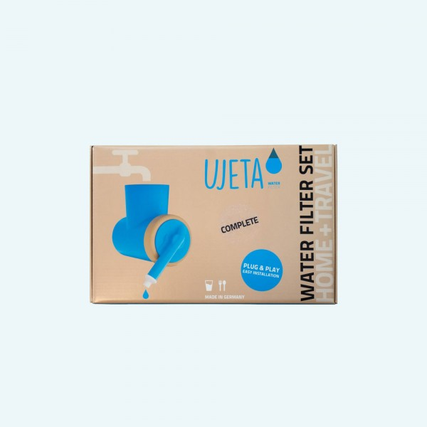 Ujeta Wasserfilterset Complete Home and Travel blau