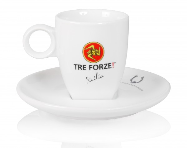 Tre Forze Cappuccinotasse (hohe Form)