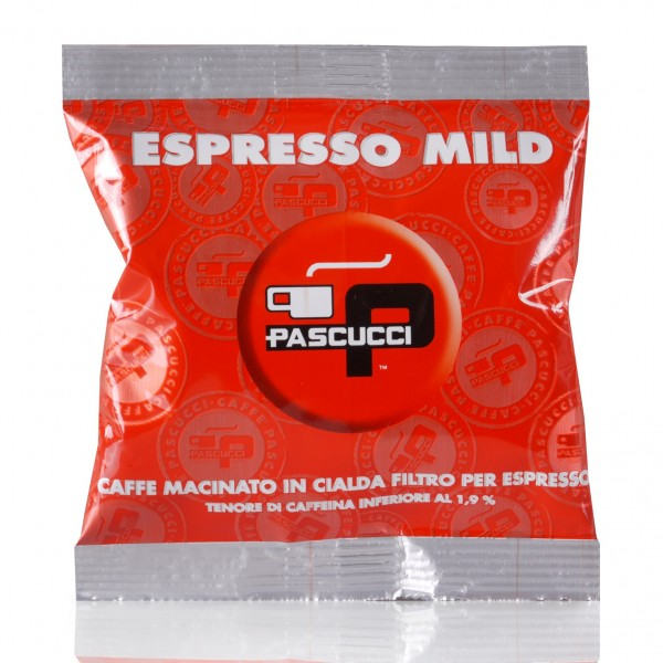 Pascucci Extra Bar Mild 100 ESE Pads