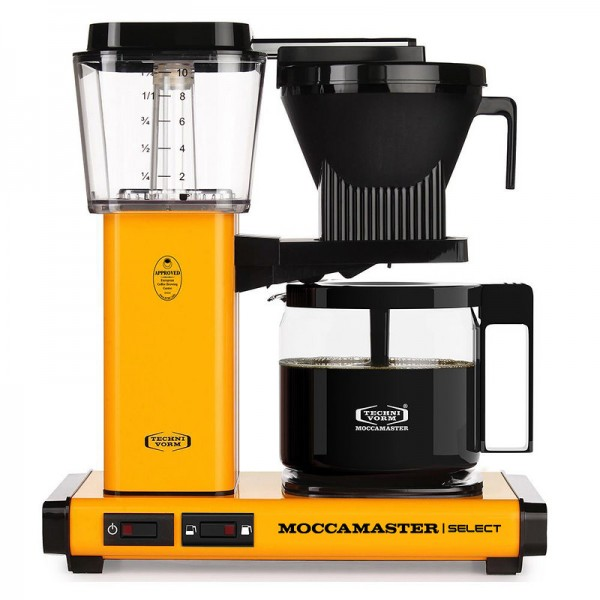 Moccamaster Select Yellow pepper Filtermaschine