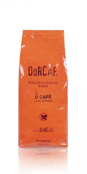 Dorcaf Orange Blend 1kg Bohnen Front