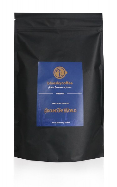 Spezialitätenkaffee Around the world - Espressoblend 1000g Bohnen